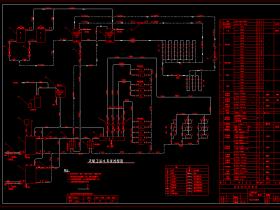 采暖系统图设计方案AutoCAD图下载 采暖系统图设计方案
