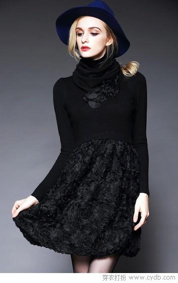 黑色连衣裙推荐 秒杀一切